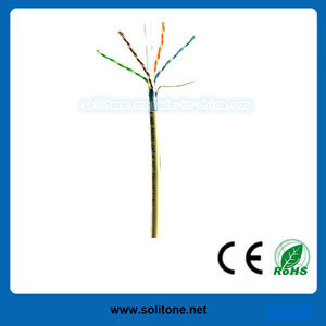 CAT6 UTP/FTP/SFTP Solid Cable/LAN Cable pictures & photos