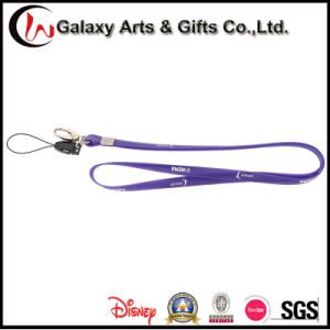 Design Your Own Brand Screen Printed Soft PVC Silicone Lanyard