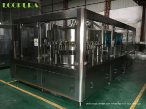 3-in-1 Bottle Rinsing Filling Capping Machine for Carbonated Beverage pictures & photos