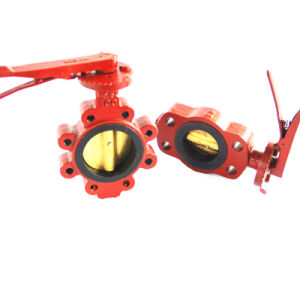 Shipyard Pneumatic Actuated Butterfly Valve pictures & photos