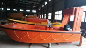 4.5m GRP Rescue Boat with Davit for 6 Man pictures & photos