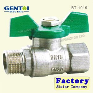 Butterfly Handle Brass Ball Valve pictures & photos