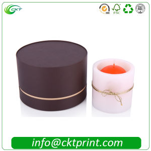 Cardboard Circle Candle Box for Small Gift (CKT-CB-1012) pictures & photos