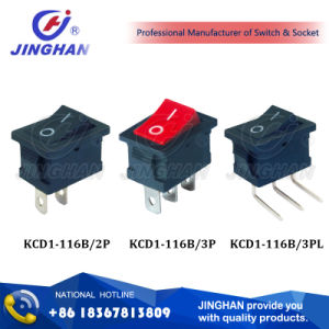 Kcd1-116b Universal Electric Rocker Switch pictures & photos