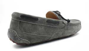 Sheep Skin Leather Men Driving Loafer Shoes pictures & photos