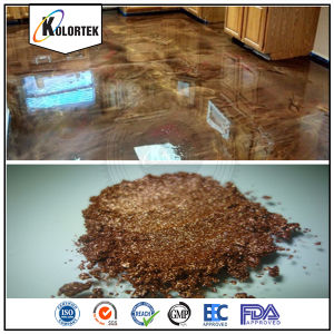 Metallic Pearlescent Concrete Flooring Coating Pigments pictures & photos