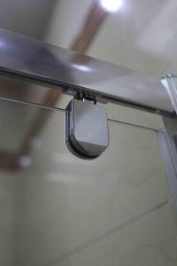 Shower Door Bathroom MID-Range 6mm Pivot Door Shower Enclosure (MR-PD90) pictures & photos