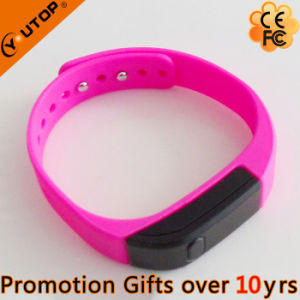 Fitness Sports Silicon Bluetooth 4.0 Pedometer Smart Wristband (YT-WSD-05) pictures & photos