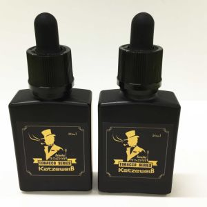 30ml Black Glass Bottle E Liquid with Free OEM Services pictures & photos