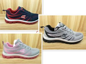 Three Colors Fly Knit High Quality Sport Shoes Running Footwear pictures & photos