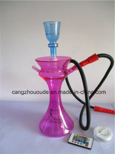 Colorful Glass Hookah Shisha Pipe Portable pictures & photos