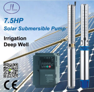 7.5HP DC/AC Deep Well Solar Pump, Irrigation Pump pictures & photos