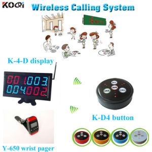 Wireless Wireless Buzzer Bell System for Restaurant Improve Service Level Equipment Display pictures & photos