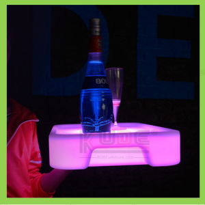 LED Glowing Rectangular Tray LED Tray for Bar pictures & photos