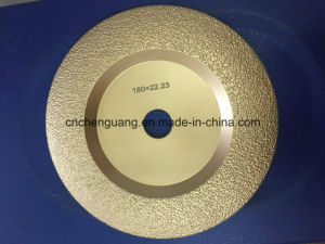 Vacuum  Brazed  Diamond  Grinding Wheel pictures & photos