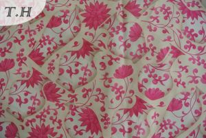 Knitted Velvet Printing Fabric Knitted Textile Fabric pictures & photos