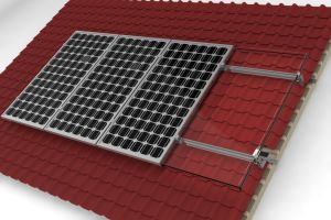 Tile Roof Aluminum Mount/Bracket/Racking Solar PV System pictures & photos
