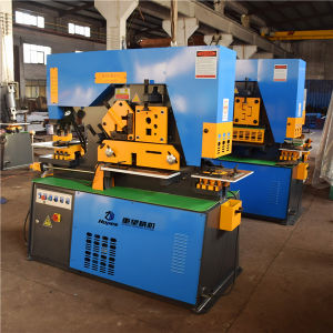 Q35y-40 Hydraulic Combined Punching Shearing pictures & photos