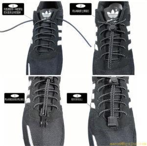 Best Price Elastic Lock Lace No Tie pictures & photos