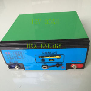 Light Weight Low Self-Dischargeable 12V30ah Lithium Battery Pack. pictures & photos