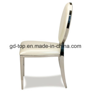 Hotel Classy Stainless Steel Dining Chairs pictures & photos