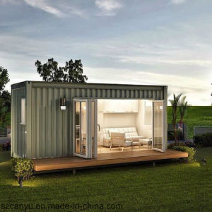 Low Cost China Cheap Living Folding Expandable Luxury Container House pictures & photos