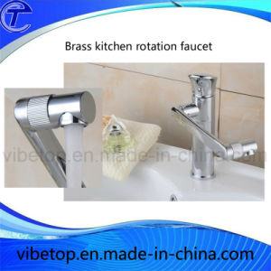 Brass Kitchen Hot and Cold Rotatable Faucet/Water Tap/Mixer pictures & photos