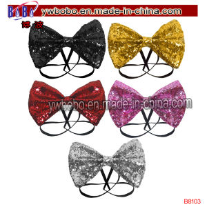 Christmas Gift Jacquard Bow Tie for Best Holiday Gift (B8103) pictures & photos