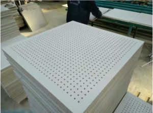 PVC Perforated Gypsum Board pictures & photos