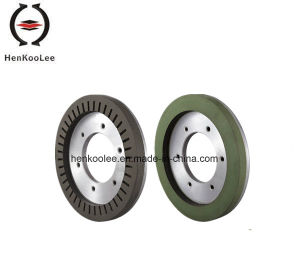 Resin-Bond Diamond Dry-Grinding Wheel (Working Layer With Flume) pictures & photos