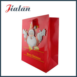 Snow Man Printed Christmas Holiday Design Customize Candy Paper Bag pictures & photos