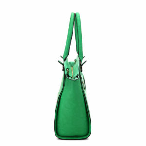 2016 Spring-to-Summer Series Large Leisure Green Shoulder Bag (MBNO040108) pictures & photos