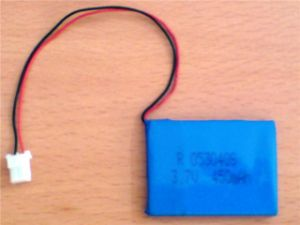 500mAh Li-ion Polymer Battery Pack 612338 pictures & photos