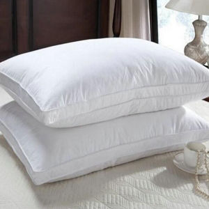 Luxury Hotel Comfortable Edge Piping Duck Down Pillow (DPF061123) pictures & photos