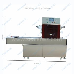 Fast Food Box Sealing Machine, Rice Tray Sealing Machine, Salad Tray Film Sealing Machine pictures & photos