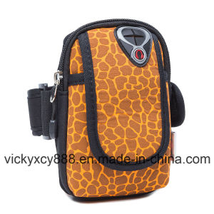 Outdoor Sports Running Neoprene Mobile Phone Cellphone Arm Bag (CY3643) pictures & photos