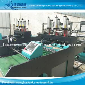 High Speed T Shirt Bag Shopping Bag Garbage Bag Making Machine Two Line 460 PCS pictures & photos