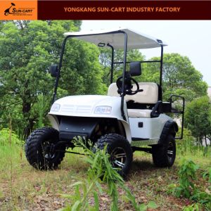 2+2 Seater Electric Hunting Golf Cart (CE approved) pictures & photos