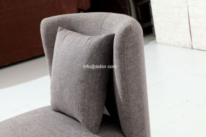 (SD-6008-1) Modern Hotel Restaurant Living Furniture Wooden Fabric Sofa pictures & photos
