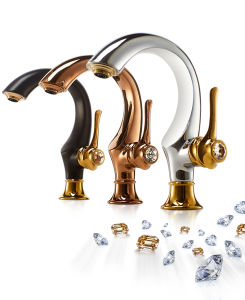 New Design Brass Basin Mixer Tap Ad6881 pictures & photos