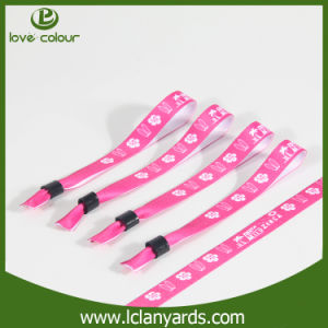 Wide Use New Custom Polyester Festival Wristband for Music