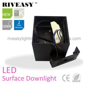 10W LED COB Surface Downlight Black&White LED Lighting pictures & photos