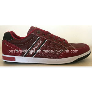 High Quality Casual PU Leater Shoes Men Shoe Fashion Shoes pictures & photos