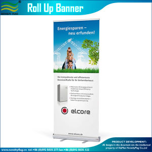 Professional Retractable Roll up Banner Trade Show Sign Display (B-NF22M01002) pictures & photos