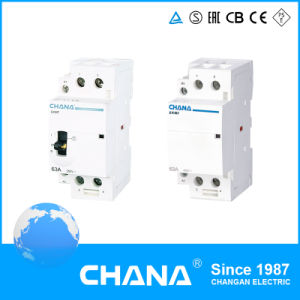 Electromagnetic 4p 16A 25A Auxiliary 400V AC Modular Contactor pictures & photos