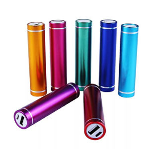 Portable Mobile Power Bank Cylinder Mobile Phone Charger 2000mAh pictures & photos