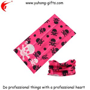 Hot Sale Skull Pattern Scarf Buff for Promotional (YH-HS033) pictures & photos