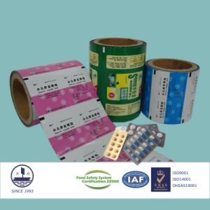 Ohsas Certified 9-Colored and Printed Composite Film for Pharmaceutical Packaging pictures & photos