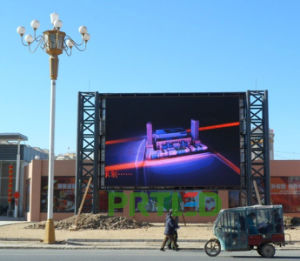 Ce/RoHS/FCC Outdoor Full Color LED Sign Board for Advertising Display (P4.81, P5.95, P6.25) pictures & photos