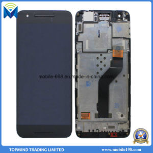 LCD Screen Digitizer with Frame for Huawei Google Nexus 6p Repair Parts pictures & photos